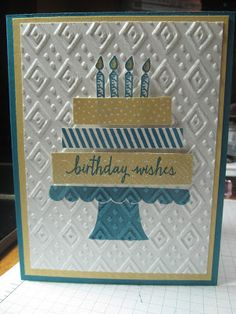 Kristin's Cards and Creations: Build a Birthday