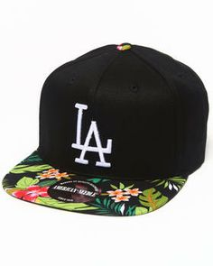 Los Angeles Dodgers Mahalo Print Adjustable hat (Drjays.com Exclusive) by American Needle