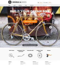 Double A Bikes by Hugo Loning, via Behance