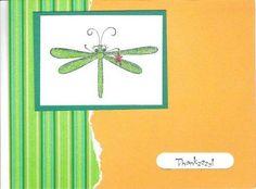 Splitcoaststampers FOOGallery - dragon fly card