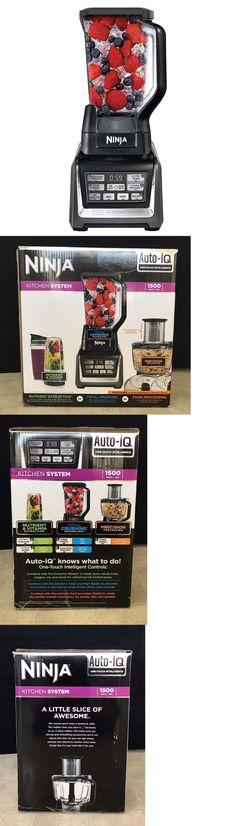 Blenders Countertop 133704: Shark Ninja Nutri Ninja 1500W With Auto-Iq Bl681a Blender Food Processor *New* -> BUY IT NOW ONLY: $189.99 on eBay!