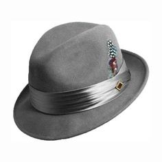Check out the Wool Fedora by Stacy Adams - for true men of style and distinction. www.stacyadams.com