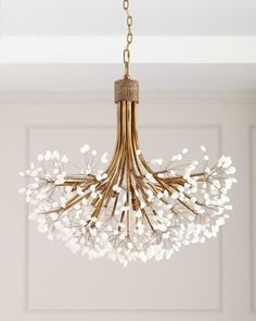 John-Richard Collection John Richard Collection Quartz Chandelier Sold Out at Horchow Home Lighting, Lighting Design, Lighting Ideas, Chandelier Design, Chandelier Ideas, Chandelier Bedroom, Chandelier Pendant Lights, Modern Chandelier Lighting, Designer Chandeliers