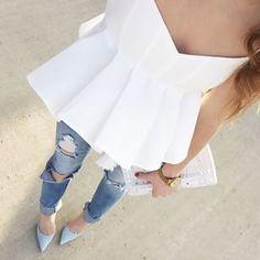 Flattering blouse