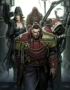 Crossed Genres: Dark Stryder and Rogue Trader