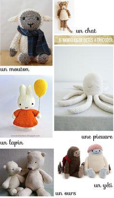 saved by Vivikene Knitting For Kids, Knitting Projects, Baby Knitting, Knitting Patterns, Crochet Patterns, Crochet Bear, Crochet Toys, Creative Textiles, Knitting Magazine