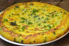 EL's Home Cooking: Картофена тортия със сирене