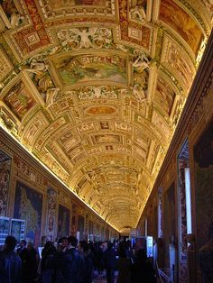 a passage in Musei Vaticani