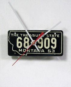 Upcycled License Plates