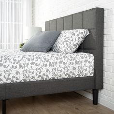 Amici Upholstered Platform Bed & Reviews | AllModern