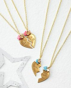 Bottleblond Jewels Best Friends Necklaces - Garnet Hill Kids