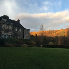 The Hall and the grounds are so beautiful in Autumn