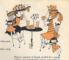 The New England Cookbook - Tea Party by 4 Color Cowboy, via Flickr