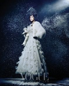 """Beautiful witch"" - Vogue Korea"