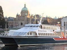 Victoria Clipper ferry from Seattle to Victoria, British Columbia