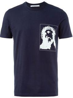 GIVENCHY Christ Print T-Shirt. #givenchy #cloth #t-shirt