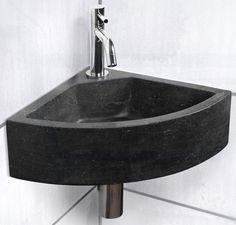 hoekwastafel kleine toilet - Google zoeken