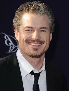 "n 2007, when Eric Dane debuted as Grey's Anatomy's dreamy Dr. Mark ""McSteamy"" Sloan, he made women across the country realize that not only did they not mind a shock of gray hair -- they downright drooled over it."