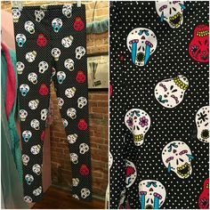 Leggings anyone? Oh yes if they have Sugar Skulls! At Endless Indulgence Retro Wear now. Sizes S - 2X