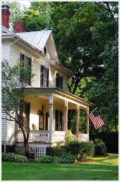 House american architecture front porches Ideas for 2019