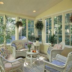 Search pictures of sunroom layouts and decor. Discover ideas for your 4 periods area enhancement, including motivation for sunroom decorating and also formats. Sunroom Furniture, Outdoor Furniture Sets, White Wicker Furniture, Furniture Layout, Four Seasons Room, Sunroom Decorating, Decorating Ideas, Three Season Porch, 3 Season Room