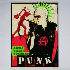 Americanflat - Punk - Print