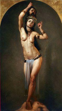 SALOME - ROBERTO FERRI - VISIONARY ART EXHIBITION