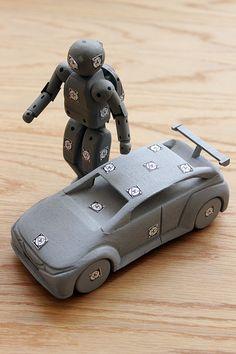 Honda, Hands by Jay Harwood, via Behance