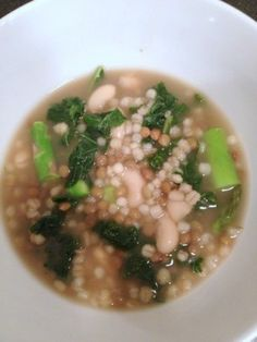 Hearty Vegetable and Grain Soup