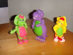 Barney & Friends Cake Toppers