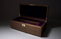 Walnut jewellery box with concealed drawers - Reader's Gallery - Fine Woodworking