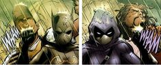 "Cassandra Cain and Stephanie Brown Black Bat and Spoiler -Batgirl Rises  ""I think self delusion like that is what makes us friends."""