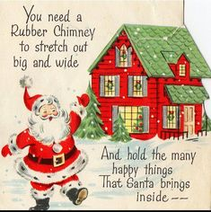 Happy things at Christmas time. Old Time Christmas, Christmas Card Images, Vintage Christmas Images, Old Fashioned Christmas, Retro Christmas, Vintage Holiday, Christmas Greeting Cards, Christmas Art, Christmas Greetings