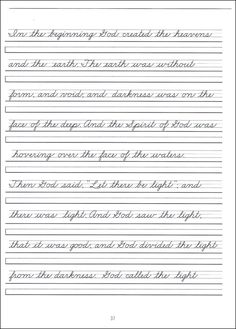 practice-cursive-writing-the-alphabet lower and upper case ...