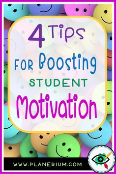 Are you a teacher who would like your students to be more motivate and engaged?!  Read Planerium post: 4 tips for boosting student motivation. #motivationintheclassroom #primaryteachers #primarystudents #motivationtools #growthmindset #funlearningactivities #teachingtips #teaching #newteachers  #primaryschool