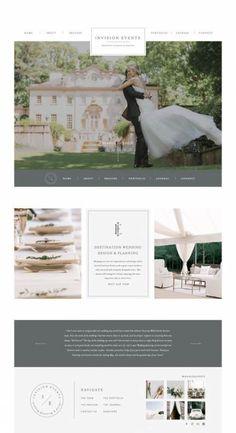 ideas for wedding planner logo design to get Wedding Website Design, Website Design Layout, Website Design Inspiration, Website Designs, Web Layout, Website Ideas, Layout Design, Design Ideas, Web Design