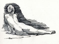 life drawing 15 min pose, via Flickr.