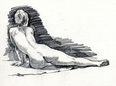 life drawing 15 min pose, via Flickr.