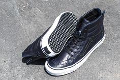 """BLENDS x Vans Vault Sk8 Hi Zip LX """"Peacoat"""" - Exclusive Photos"""