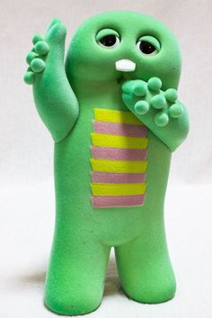 Ponkikki Gachapin Figure VCD Vinyl Collectible Dolls Medicom Toy JAPAN ANIME