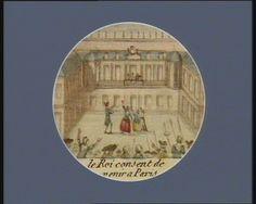 French Revolution Digital Archive: Le Roi consent de venir a Paris [estampe]