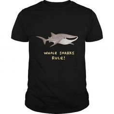 This is an awesome to wear for your family and friend who love animal:  Whale Sharks Rule Tee Shirts T-Shirts