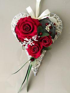 Сердце с живыми неувядающими цветами! Эксклюзивный и оригинальный подарок! ❤️
