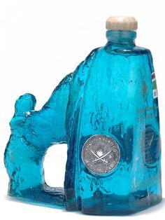 arco del cabo blanco tequila - artistic bottle