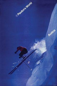 Chermayeff & Geismar poster for PanAm's World (Austria). #frosty via @wayneford