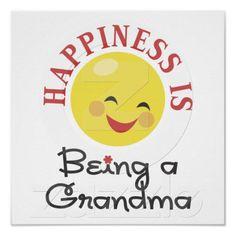 Cute Smiley Face Grandma