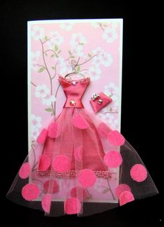 Swan Ballerina - gift for kids nursery room decor kids roo Step Card, Handkerchief Crafts, Creative Birthday Cards, Birthday Card Online, Origami Dress, Dress Card, Paper Cards, 3d Paper, Kids Cards