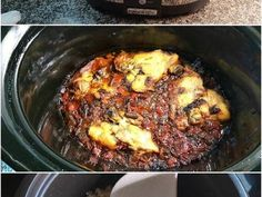 Recetas Crock Pot, Pollo Guisado, Slow Cooker Recipes, Curry, Pork, Beef, Slow Cooking, 4 H, Crock Pot Recipes