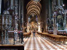 St Stephen's Cathedral (romanesque+gothic) by Anton Pilgram, Vienna