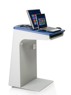 Tecom | TecPodium Lite | Classroom Technology Lectern | Portable Podium